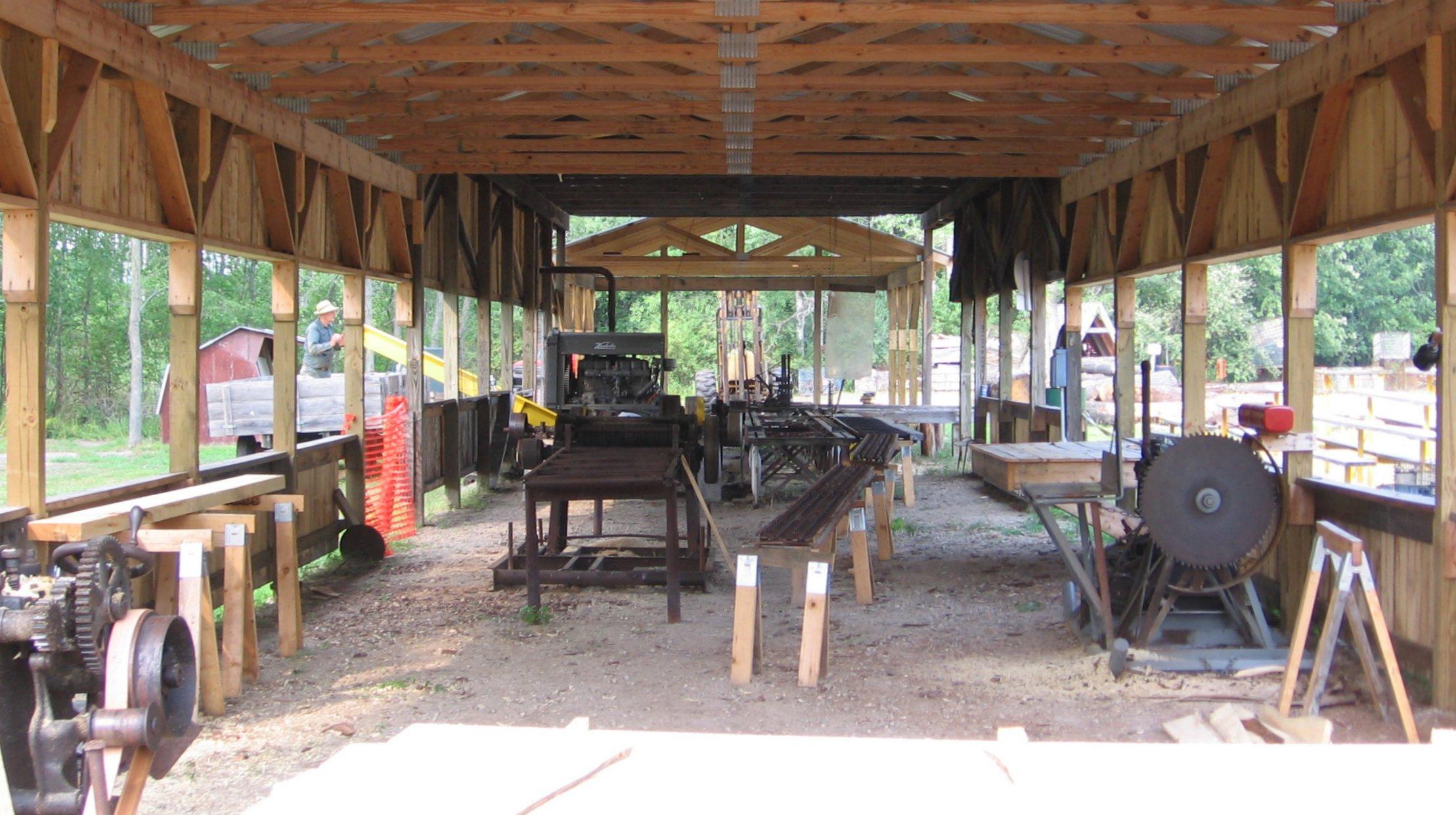 Sawmill Inside