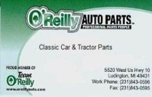 Image for O'Reilly Auto Parts